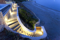 Private stairs to the beach