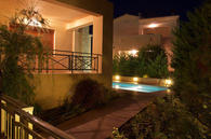 HELIDONIA VILLAS / Villa Denise - night view