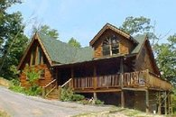 Beautiful Log Cabin with Mountain Views