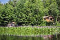Boathouse and Cabin