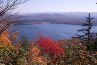 View of Piseco Lake from Local Hike