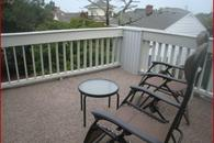 Third floor deck