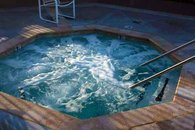 One of two hottubs