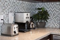 Two slice toaster and 12-cup coffee maker