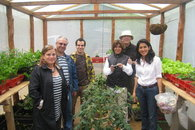 Guests at our Organic Green House
