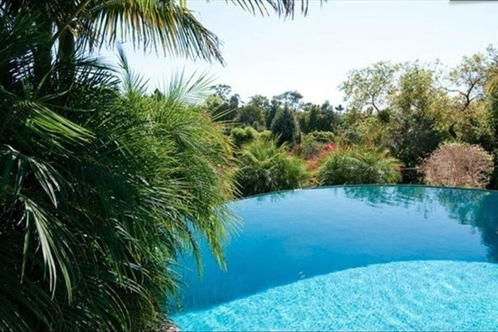 infinity pool united states. Hacienda Style House With Infinity Pool United States I