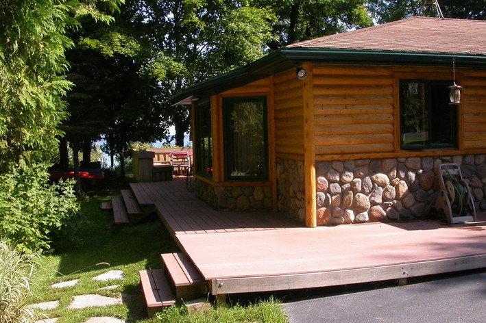 Rentini door county cabin on lake michigan for Cabins on lake michigan in wisconsin