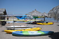 Rent kayaks just 3 minutes away