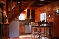 Modern Knotty Pine Lake Tahoe Cabin