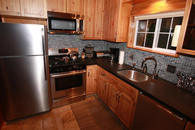 Fully remodeled kitchen with stainless steal appliances