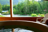Romantic cabin on the Skykomish River