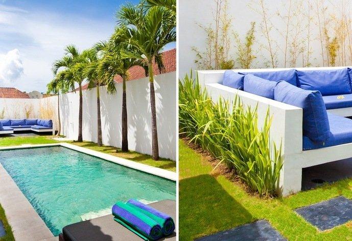 Rentini 2bedroom villa with pool in SeminyakBali