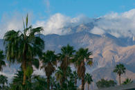 view from house of san jacinto mountains
