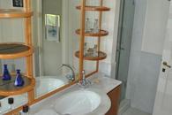 The Marinaio's bathroom with shower