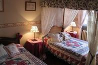 This bedroom called Principessa has twotwin french bed