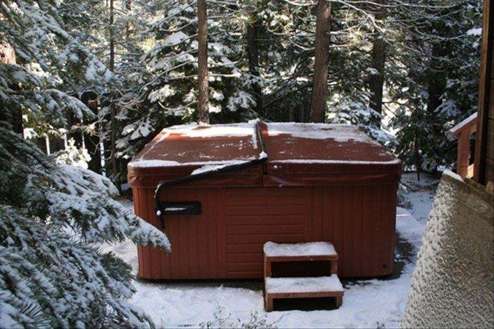 ... So Lake Tahoe Chalet Cabin W/ Deck / Hot Tub ...