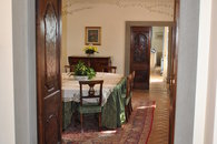 entrance to the dining room
