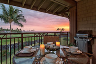 Oceanview Condo on golf course at Halii Kai
