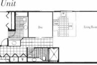 Floorplan of our Large Ground Floor Condo