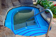 Three Hot Tubs with Sandy Bottom Are Available at No Cost to All Guests