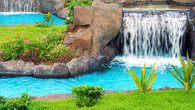 Swimming Lazy River with Waterfalls