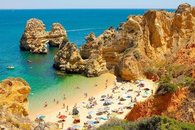Algarve cove .Safe sandy beaches and coves for your enjoyment.