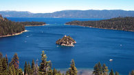 Emerald Bay, Lake Tahoe is one of the most photographed places in the world. It a short drive from the house.