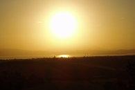 Sunrise over lake Trasimeno