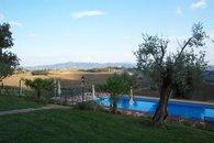 Pool looking southeast