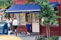 Magnolia bakery is just around the block