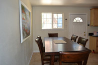 Dining Room table can seat 10-12 people