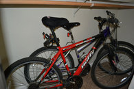 2 bikes on site for your use