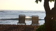 Quiet time at Waipouli Beach