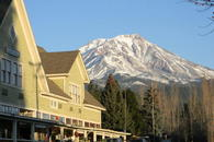 Back yard view of Mt Shasta 