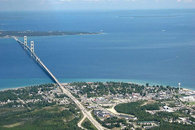 Mackinac Bridge & Island just 45 miles north