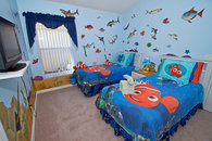 Nemo's Underwater Room with 32 inch HDTV