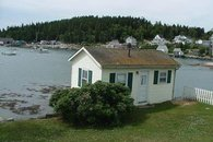 Exterior of Cottage on Harbor
