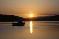 A splendid sunrise at Hood Canal
