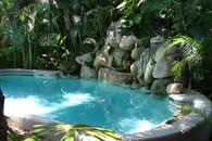 Heat Pool and Waterfall