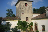 the tower in the Prosecco hill