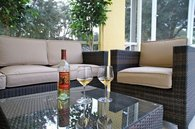 Relax with a glas of chilled wine