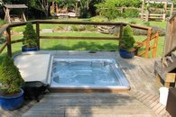 Relax in your private hot-tub!