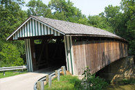 Just moments from one of Kentucky's covered bridges.