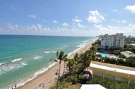 Our corner Suite has a view of the Southern Florida Coastline that can't be beat!