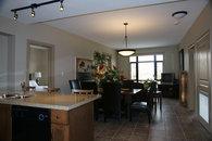 Living Room at Playa Del Sol. 3BR Topfloor Condo, 2 Decks, Private Entrance, View of Wilson Creek and sometimes Lake Okanagan