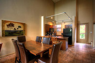Kitchen in Quiet Lofted Condo at Playa Del Sol-View of Willson Creek