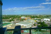 Panorama view from balcony