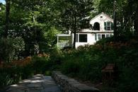 Gardens at The Waterfall House a Woodstock vacation rental home 