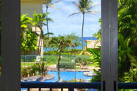 Waipouli Beach Resort F204 Living Room view