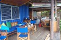 Bula Vista, Savusavu, Fiji Kitchen area